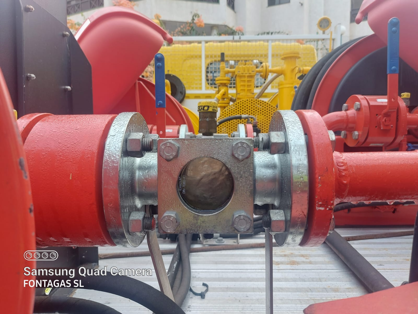 Procedimiento para el vaciado e inertizado de un depósito de gas propano